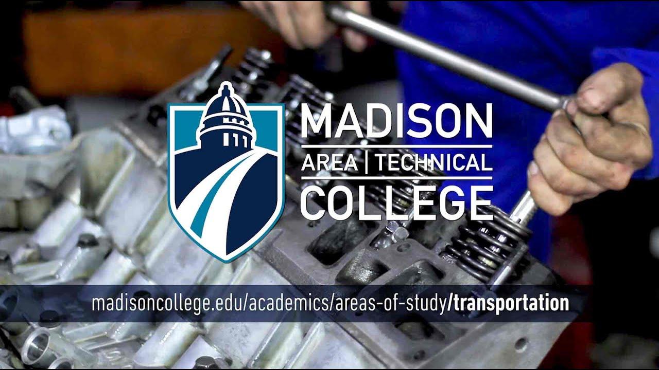 Madison College Areas of Study: Transportation