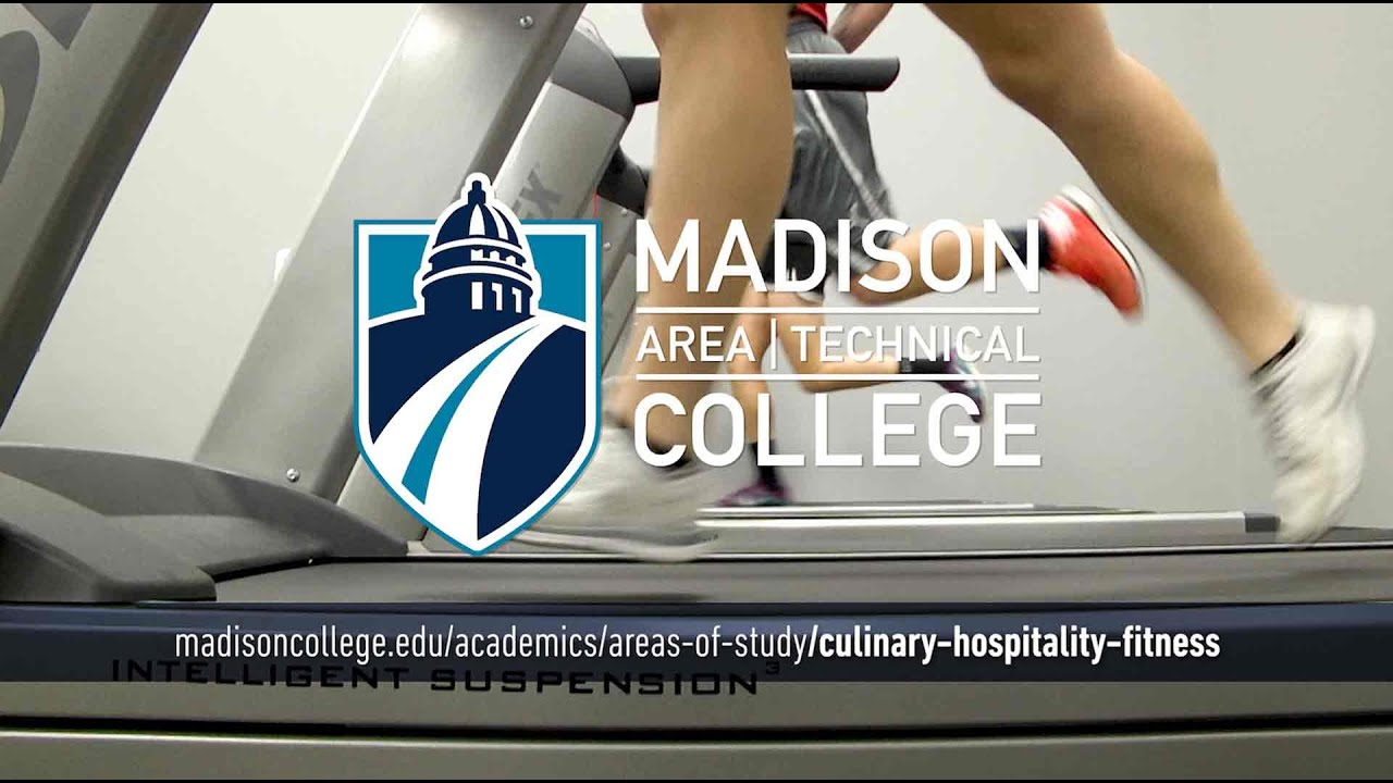 Madison College Areas of Study: Culinary, Hospitality, and Fitness